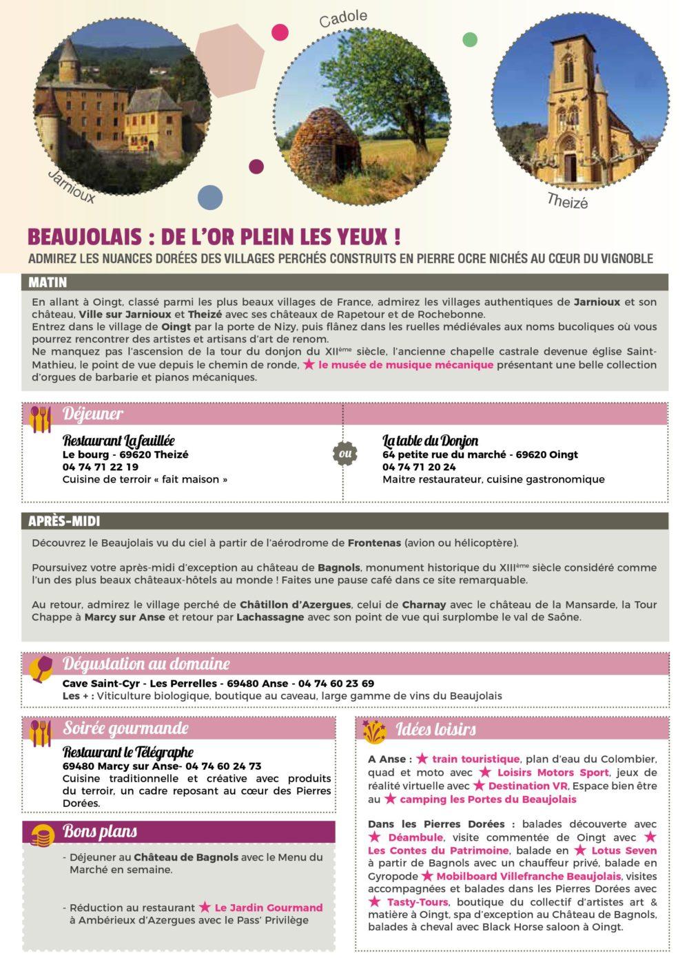carnet de voyage 2019 - beaujolais - page 1